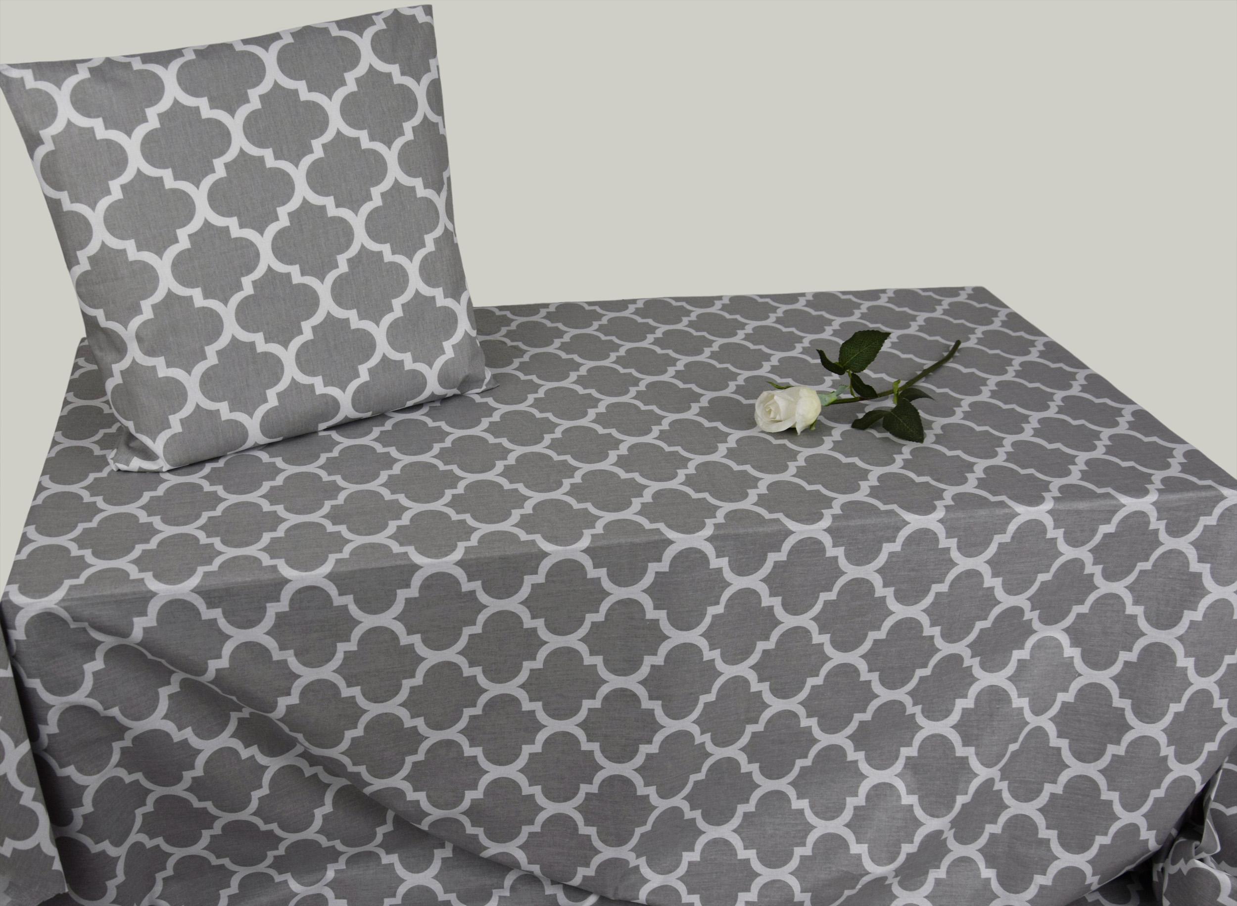 5 90 m 50cm stoff baumwolle dekostoff orient geometrische muster grau ebay. Black Bedroom Furniture Sets. Home Design Ideas