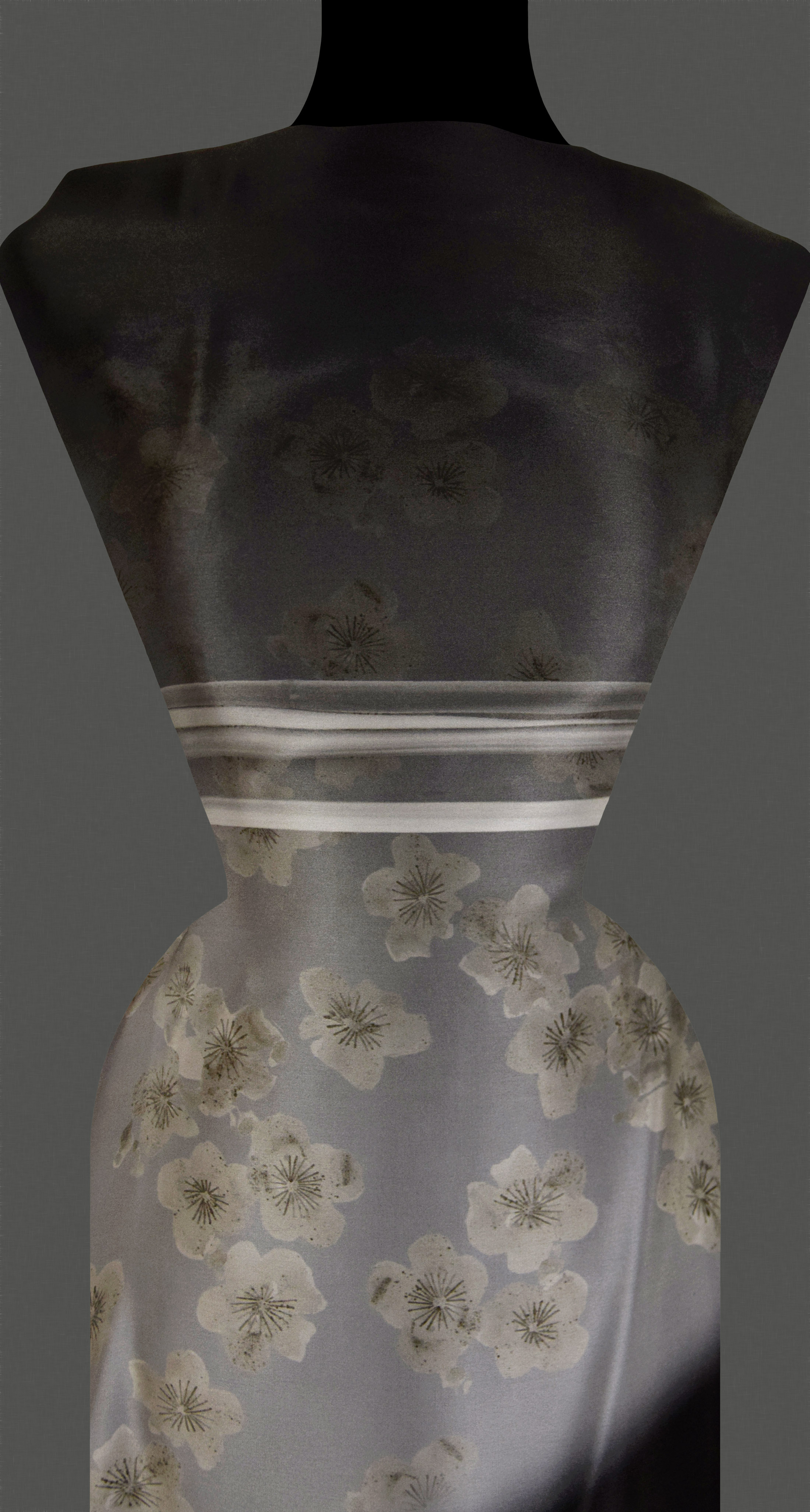 Bottled Up Designs Recycelte Vintage Einmachglas Sterling Silber Blume Brisur Ohrringe